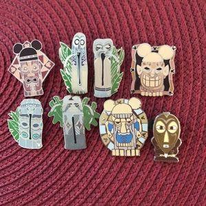 Disney Tiki Room pins